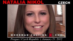 Access Natalia Nikol casting in streaming. Pierre Woodman undress Natalia Nikol, a Czech girl.