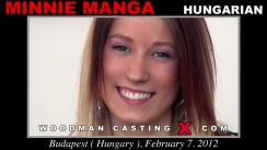 Access Minnie Manga casting in streaming. Pierre Woodman undress Minnie Manga, a Hungarian girl.