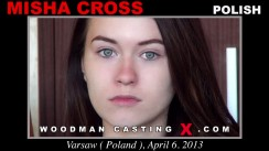 Casting of MISHA CROSS video