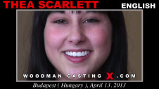 Sex Castings Thea scarlett