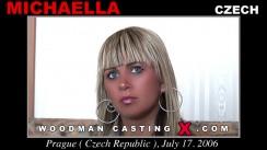 Access Michaella casting in streaming. Pierre Woodman undress Michaella, a Czech girl.