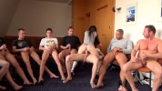 Misha Cross - hard - gang banged + 8 boys