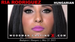 Look at Ria Rodriguez getting her porn audition. Erotic meeting between Pierre Woodman and Ria Rodriguez, a Hungarian girl.