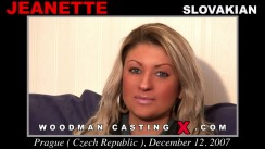 Watch Jeanette first XXX video. Pierre Woodman undress Jeanette, a Slovak girl.