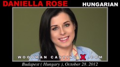 Download Daniella Rose casting video files. A Hungarian girl, Daniella Rose will have sex with Pierre Woodman.