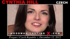 Look at Cynthia Hill getting her porn audition. Erotic meeting between Pierre Woodman and Cynthia Hill, a Czech girl.