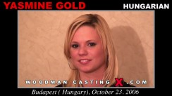 Check out this video of Yasmine Gold having an audition. Erotic meeting between Pierre Woodman and Yasmine Gold, a Hungarian girl.