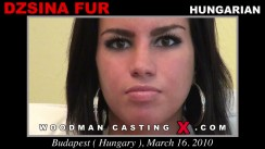 Look at Dzsina Fur getting her porn audition. Erotic meeting between Pierre Woodman and Dzsina Fur, a Hungarian girl.