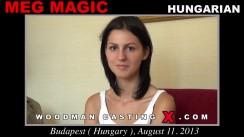 Casting of MEG MAGIC video