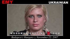 Watch our casting video of Emy. Erotic meeting between Pierre Woodman and Emy, a Ukrainian girl.