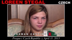 Watch our casting video of Loreen Stegal. Erotic meeting between Pierre Woodman and Loreen Stegal, a Czech girl.