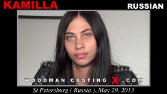 Look at Kamilla getting her porn audition. Erotic meeting between Pierre Woodman and Kamilla, a Russian girl.
