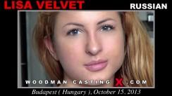 Watch Lisa Velvet first XXX video. Pierre Woodman undress Lisa Velvet, a Russian girl.