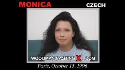Watch Monica first XXX video. Pierre Woodman undress Monica, a Czech girl.