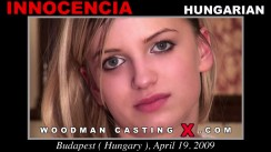 Download Innocencia casting video files. A Hungarian girl, Innocencia will have sex with Pierre Woodman.