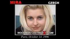 Access Mira casting in streaming. Pierre Woodman undress Mira, a Czech girl.