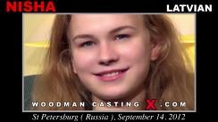 Watch Nisha first XXX video. A Latvian girl, Nisha will have sex with Pierre Woodman.