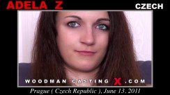 Watch our casting video of Adela Z. Erotic meeting between Pierre Woodman and Adela Z, a Czech girl.