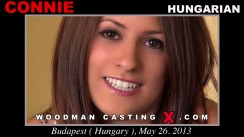 Watch our casting video of Connie. Pierre Woodman fuck Connie, Hungarian girl, in this video.