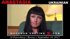 Download Anastasia casting video files. Pierre Woodman undress Anastasia, a Ukrainian girl.