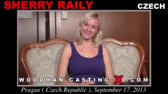 Look at Sherry Raily getting her porn audition. Erotic meeting between Pierre Woodman and Sherry Raily, a Czech girl.