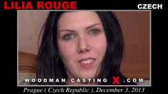 Check out this video of Lilia Rouge having an audition. Erotic meeting between Pierre Woodman and Lilia Rouge, a Czech girl.