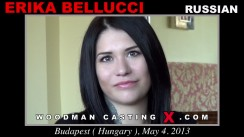Look at Erika Bellucci getting her porn audition. Pierre Woodman fuck Erika Bellucci, Russian girl, in this video.