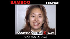 Access Bamboo casting in streaming. Pierre Woodman undress Bamboo, a French girl.