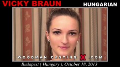 Check out this video of Vicky Braun having an audition. Pierre Woodman fuck Vicky Braun, Hungarian girl, in this video.