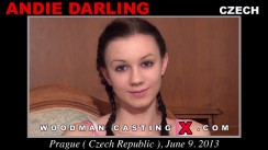 Watch Andie Darling first XXX video. A Czech girl, Andie Darling will have sex with Pierre Woodman.