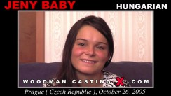 Access Jeny Baby casting in streaming. Pierre Woodman undress Jeny Baby, a Hungarian girl.