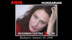 Check out this video of Anik having an audition. Erotic meeting between Pierre Woodman and Anik, a Hungarian girl.