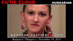 Check out this video of Cutie Cloud having an audition. Erotic meeting between Pierre Woodman and Cutie Cloud, a Hungarian girl.