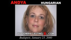 Download Andya casting video files. Pierre Woodman undress Andya, a  girl.