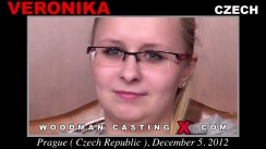 Look at Veronika getting her porn audition. Erotic meeting between Pierre Woodman and Veronika, a Czech girl.