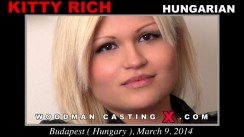 Watch Kitty Rich first XXX video. A Hungarian girl, Kitty Rich will have sex with Pierre Woodman.