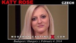 Download Katy Rose casting video files. A Czech girl, Katy Rose will have sex with Pierre Woodman.