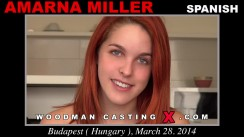 Watch our casting video of Amarna Miller. Erotic meeting between Pierre Woodman and Amarna Miller, a Spanish girl.