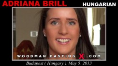 Check out this video of Adriana Brill having an audition. Erotic meeting between Pierre Woodman and Adriana Brill, a Hungarian girl.