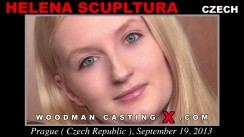Access Helena Sculptura casting in streaming. A Czech girl, Helena Sculptura will have sex with Pierre Woodman.