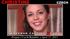 Check out this video of Christine having an audition. Erotic meeting between Pierre Woodman and Christine, a Czech girl.