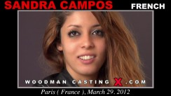 Look at Sandra Campos getting her porn audition. Pierre Woodman fuck Sandra Campos, French girl, in this video.