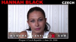 Watch our casting video of Hannah Black. Erotic meeting between Pierre Woodman and Hannah Black, a Czech girl.
