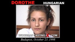 Check out this video of Dorothe having an audition. Erotic meeting between Pierre Woodman and Dorothe, a Hungarian girl.