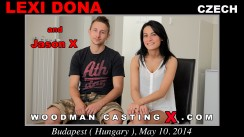 Look at Lexi Dona getting her porn audition. Erotic meeting between Pierre Woodman and Lexi Dona, a Czech girl.