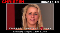 Watch our casting video of Christen. Pierre Woodman fuck Christen, Hungarian girl, in this video.