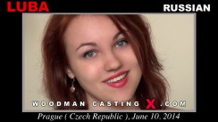 Watch our casting video of Luba. Erotic meeting between Pierre Woodman and Luba, a Russian girl.