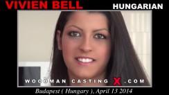 Watch Vivien Bell first XXX video. A Hungarian girl, Vivien Bell will have sex with Pierre Woodman.