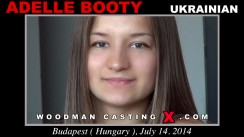 Casting of ADELLE BOOTY video