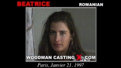 Look at Beatrice getting her porn audition. Erotic meeting between Pierre Woodman and Beatrice, a Romanian girl.